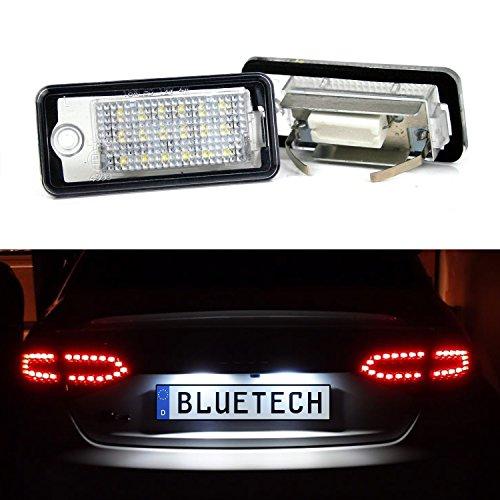 LED Kennzeichenbeleuchtung Kennzeichenleuchte Xenon-Optik