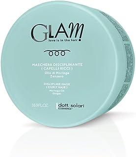 Glam crema styling capelli ricci