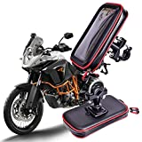 Car phone holder mount Car phone holder mount Motorcycle Mobile Phone Holder Support Moto Bicycle Stand Smartphone Bike Waterproof Bag Cell Phone Case GPS Holder For phone car holder ( Color : L )
