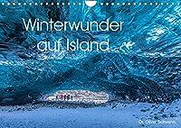 Winterwunder auf Island (Wandkalender 2022 DIN A4 quer): Traumhafte Winterlandschaften auf Island laden Monat fuer Monat zum Staunen ein. (Monatskalender, 14 Seiten )