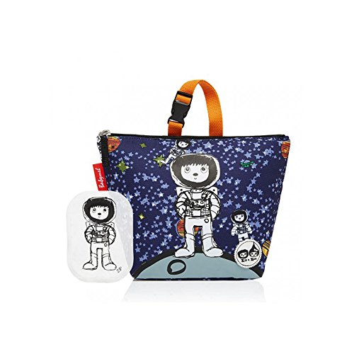 Babymel Insulated Lunch Bag/Lunchbox with Ice pack - Zip & Zoe Range (Spaceman)