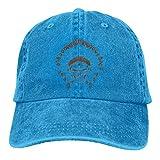Lsjuee Native American Chief Skull. Gorras de béisbol Ajustables Sombreros de Mezclilla Sombrero de ...