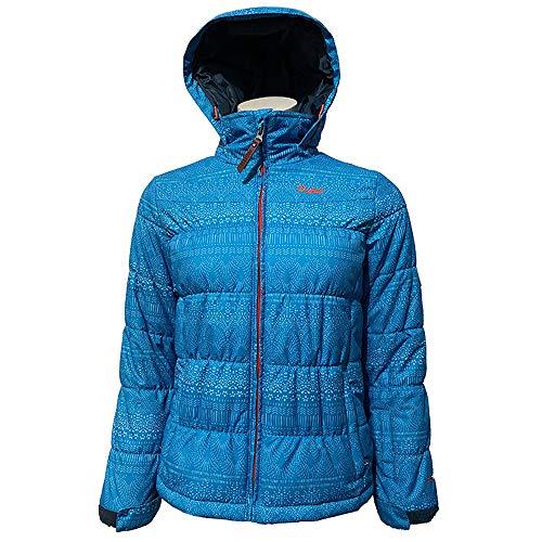Protest Helski 18 JR Alpine Blue Kinder Skijacke Winterjacke Snowboardjacke Mädchen Gr. 152, Bekleidung Junior:152