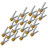 Drillman - Pinzas de sujeción para el mercado de metal de 15,2 cm y funda protectora...