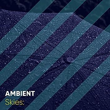 Ambient Skies: Rain & Thunder Surrounding the Hillside