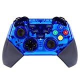 TOONEV Wireless Game Controller for Nintendo Switch Pro USB Classic Controller Joystick for Windows PC (Blue)