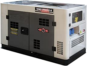Gerador Diesel Toyama Refrigerado à Água Monofásico 10kw Bivolt Cabinado 3600rpm Tdwg12000sge-n