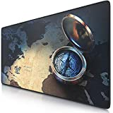 """CSL - XXL Mousepad Gaming 900 x 400mm """"Compass"""" - Tappetino Mouse Gaming Extralarge - Migliora..."""