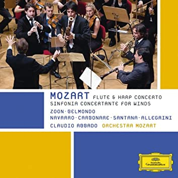 Mozart -  Sinfonia Concertante For Winds; Flute & Harp Concerto