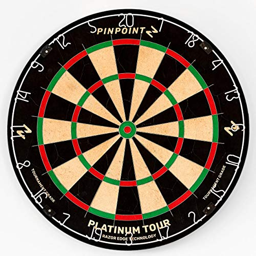 Pinpoint Platinum Tour Professional Dartboard -...