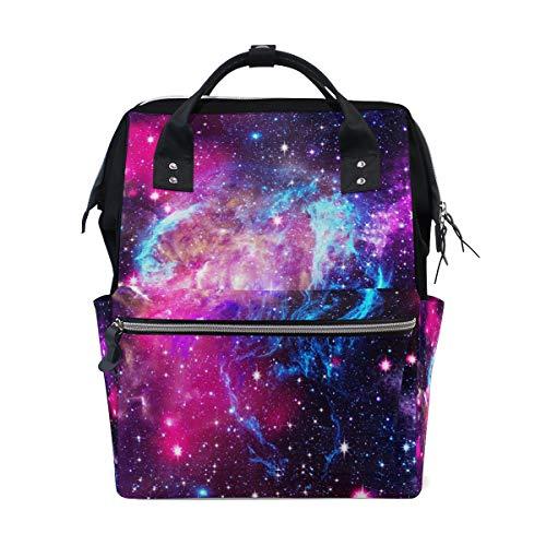 Ahomy Sac à langer pour bébé Nebula Galaxy Universe Star Maman Sac à langer Sac à dos de voyage