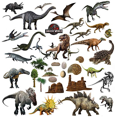 Dinosaurier Wandtattoo Wandsticker Wandaufkleber für Jungs Kinderzimmer Schlafzimmer