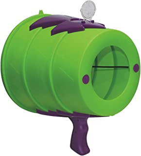 AirZooka air Blaster Toy, air Cannon Toy Fun air Gun, Launch a Powerful and Safe air Assault on Adults or Children and Animals, Best Prank Toy! (Green and Purple)