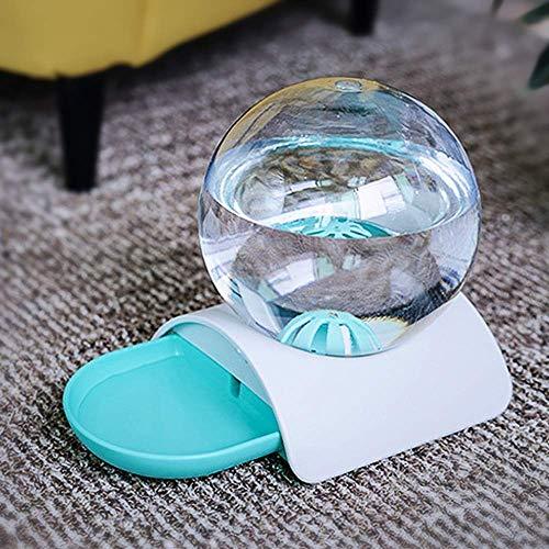Ccgdgft 2.8L Automatische huisdier kat hondenvoer fontein bubble automatische katten waterfontein grote drinkkom voor kat huisdieren waterdispenser, Blauw