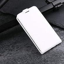 "Flip Cases - flip leather case for Meizu m6 note meizu note 6 3GB 16GB 32GB 4GB 64GB 5.5"" Case Retro Wallet Leather Cover cases coque Etui> (R6S WH for Meizu m6 note)"