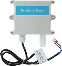 zhuolong Transmisor de Temperatura y Humedad Sensor de Pared Prueba Ambiental de Temperatura y Humedad para Invernadero