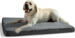 Extra Large Dog Bed with Removable Washable Cover for Dogs and Cats Up to 50kg, Orthopedic Egg-Crate Foam, Water-Resistant...