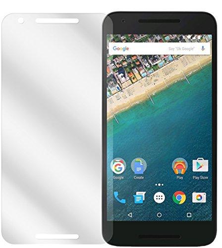 dipos I 2X Schutzfolie klar kompatibel mit LG Google Nexus 5X Folie Bildschirmschutzfolie