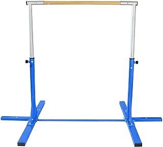 DAWSON SPORTS Unisex Adult 281011 Simple Training Horizontal Bar - Blue 281011 - Blue, Smallize: 4' Crossbar 1.37m (w) x 3...