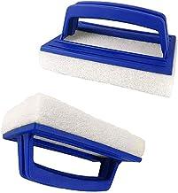 Dtaeye 2 Piezas Cepillo de Limpieza de Piscinas Cepillo Limpieza de Piscinas Cepillo de Piso Cepillo de Esponja para Bañera Limpiafondo Manual para Piscinas para Piscina y Piscinas Pequeñas