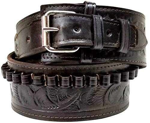 Modestone 38/357 Cal Western High Ride/Rise Leather Ceinture Pistolet *NO Holsters* 36