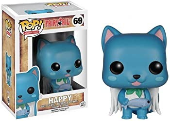 Funko POP Anime  Fairy Tail Happy Action Figure 3.75 inches