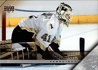 2005-06 Upper Deck Series 2 Hockey #402 Jocelyn Thibault Pittsburgh Penguins Official NHL UD Trading Card