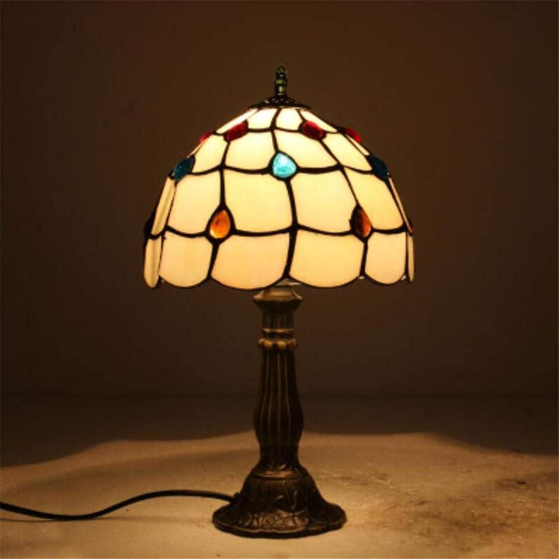 Nachtlichtmoderne Retro Tischlampe Europischen Kreativen Amerikanischen Schlafzimmer Nachttischlampe Einfache Mediterranen Persnlichkeit Café Dekoration Lampe