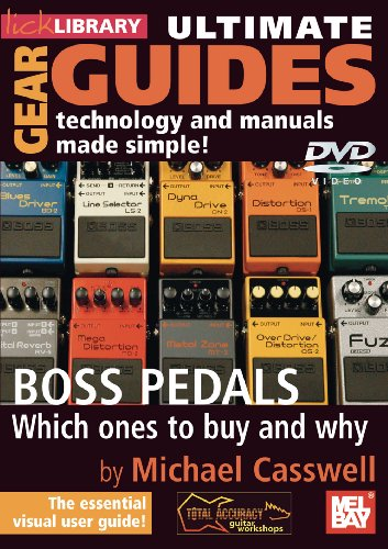 Ultimate Gear Guides - Boss Pedals [2 DVDs]