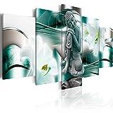 murando - Cuadro en Lienzo Buda Zen SPA 200x100 cm Impresión de 5 Piezas Material Tejido no Tejido...