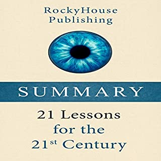 Summary: 21 Lessons for the 21st Century audiobook cover art