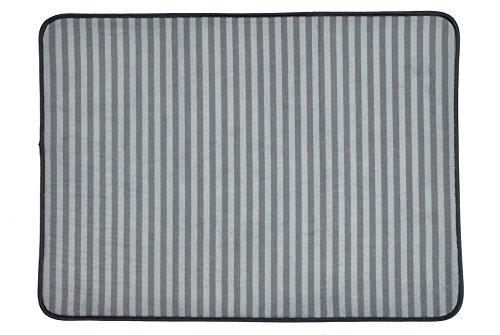 Bone Dry Striped Pet Cage Mat, X-Large - 25 x 39,...