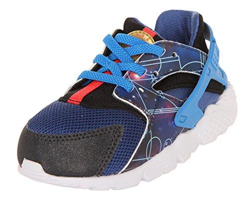 Nike Unisex – Bimbi 0-24 Huarache Run Print (TD) Scarpe Sportive Multicolore Size: 25