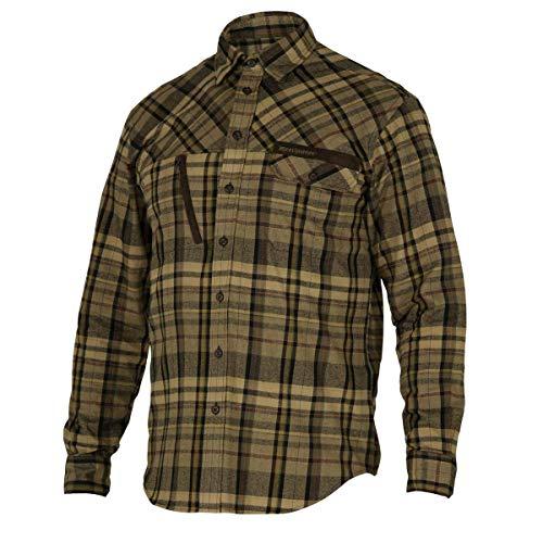 Deerhunter Reece Shirt - Green Check 45/46 Grün