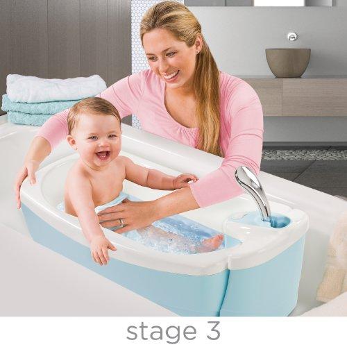 Summer Infant 18866 Lil' Luxuries Whirlpool, Sprudelbad und Dusche, mehrfarbig - 4