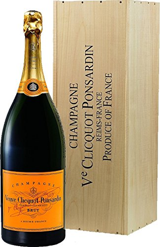 Veuve Clicquot Brut Yellow Label Mathusalem in Holzkiste (1 x 6 l)