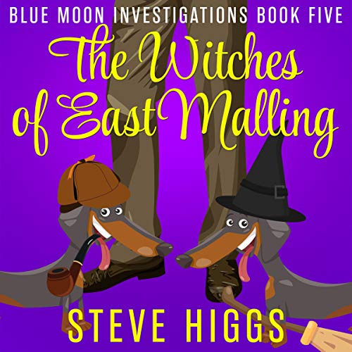 The Witches of East Malling audiobook cover art
