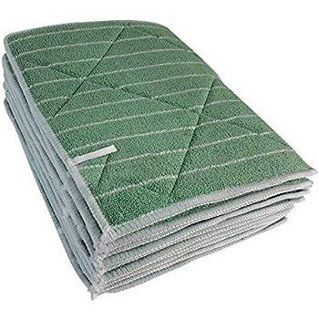 Muxel Lot de 10 Chiffons de Nettoyage en Fibre de Bambou sans Rayures