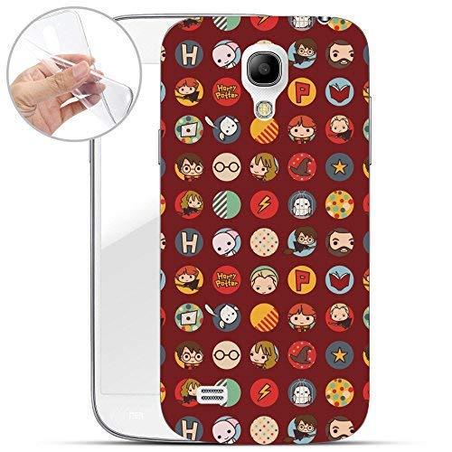 Harry Potter all Serie Custodia Rigida Samsung Galaxy S4/S4 Mini - Case Logo, Samsung Galaxy S4