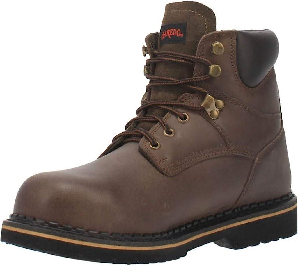 Laredo Mens Hub Genuine Free Shipping Tack Steel Toe Safety Atlanta Mall Shoes Casual Work -