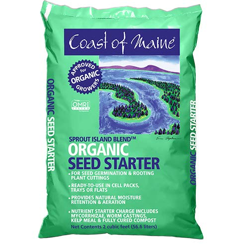 Coast of Maine Sprout Island Organic Seed Starter- 2 CU FT