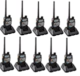 Baofeng UV-5RA Two Way Radio Dual-Band Transceiver Walkie Talkie (Pack of 10)