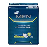 Tena Incontinence Guards for Men, Moderate Absorbency, 48 Count (Pack of 2)