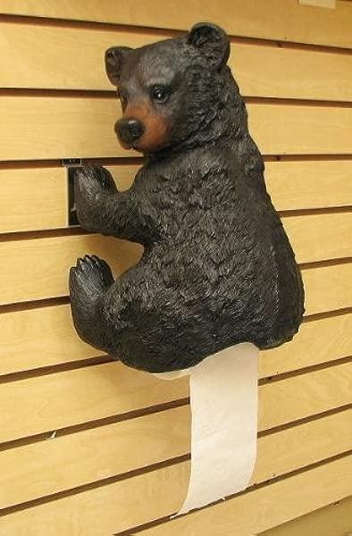 IWGAC 021 10728 Bear Toilet Paper Holder