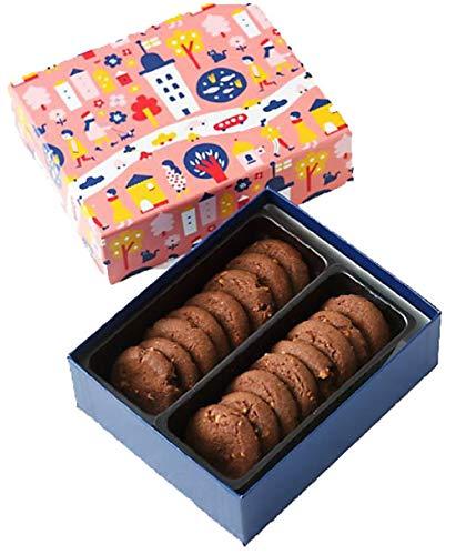 フィーカ Fika クッキーアソート クッキー 北欧の街 お菓子屋 (ドロンマル(ココア)国産もち米あられ1個セット)