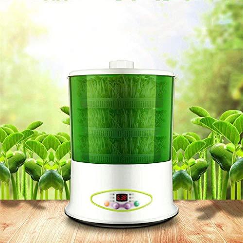 YYLNB Double Couche Bean Sprout Machine, Graine Germoir, Grande entièrement Automatique, véritable, capacité, Sprout Bean Intelligent Machine, 360 degrés Sprinkler température Intelligent de contrôle
