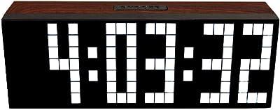 Yosoo Alarma Big Time Relojes LED Digital / Cuenta atrás ...