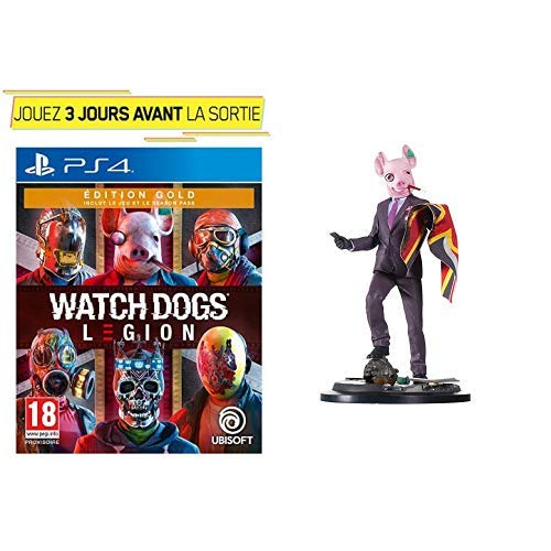 Watch Dogs Legion - Edition Gold + Figurine - Watch Dogs Legion: Resistant Of London