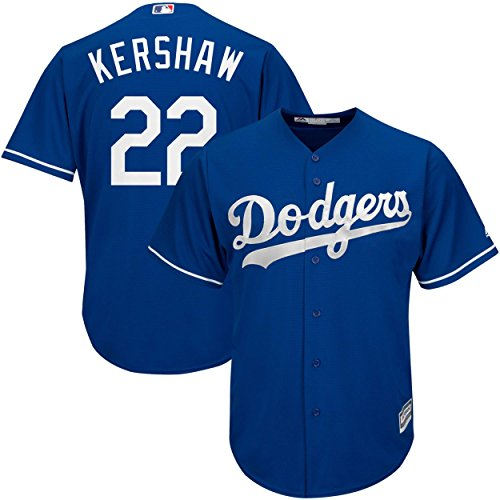 Clayton Kershaw Los Angeles Dodgers Blue Infants Cool Base Alternate Replica Jersey (12 Months)