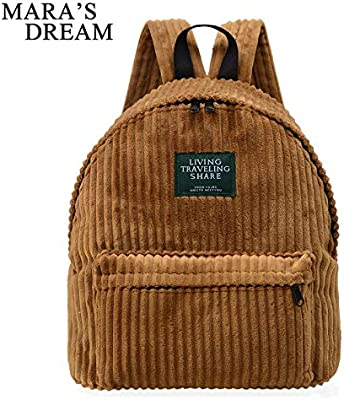 Maras Dream Retro Backpack for Women Girls Schoolbags Simple Colour Mochila Escolar School Bag Female Rucksack